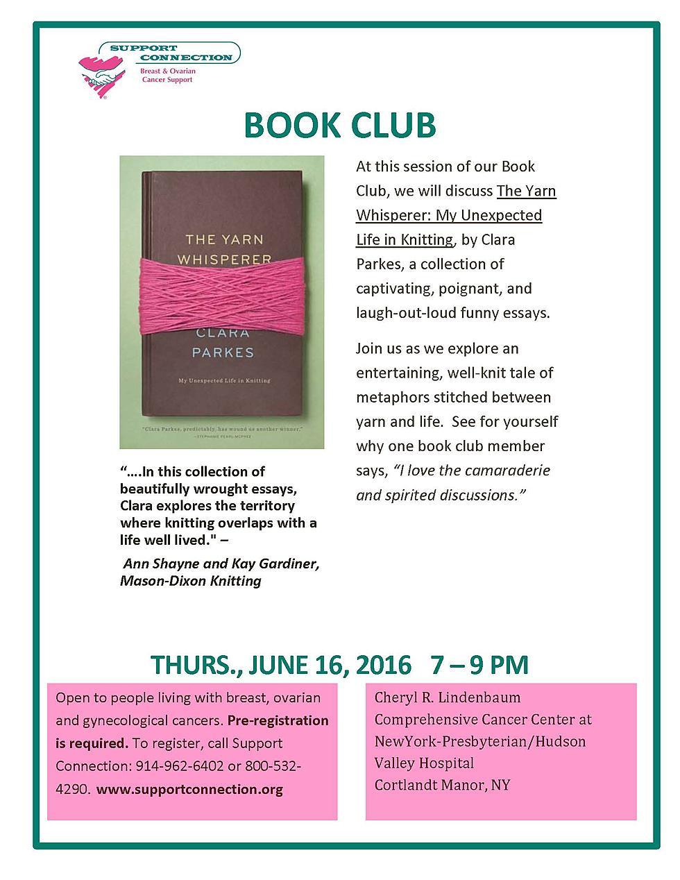 Cortlandt Manor Book Club
