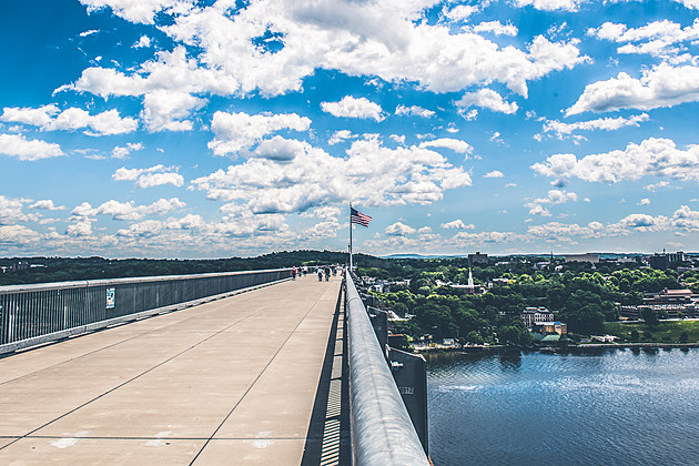 The Walkway Over the Hudson in the City of Poughkeepsie